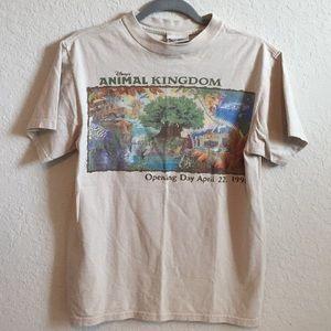 90s Vintage Animal Kingdom Opening Day Tee Shirt